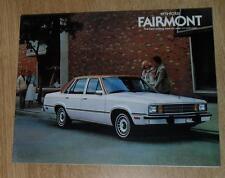USA - Ford Fairmont Brochure 1979 2 4 Door Sedan Wagon