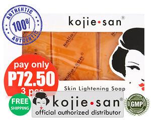 Kojie-San-3-Pack-Skin-Whitening-Lightening-Bleaching-Kojic-Acid-Soap-65-SAVE