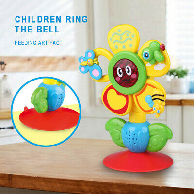 Baby Rattles Ferris Wheel Suckers Developmental Toys Mobiles with Suction Base