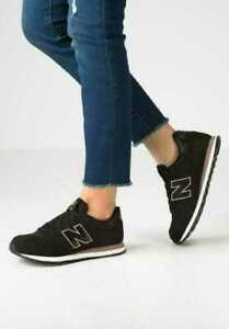 black new balance women's trainers