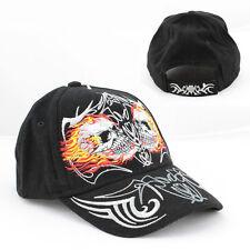 Biker Tribal Flammen Skull Totenkopf Basecap Mütze Trucker Baseball Cap NEU