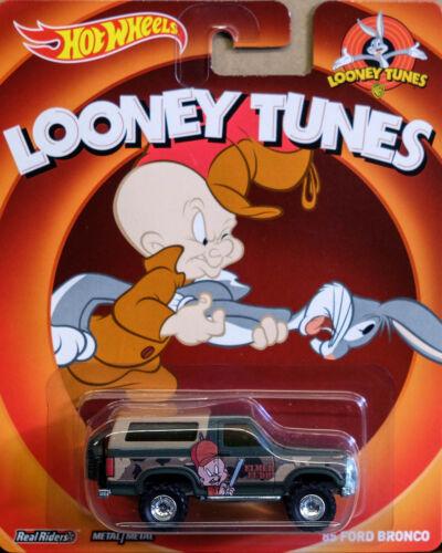 1985 Ford Bronco Elmer Fudd Looney Tunes 1:64 HOT WHEELS bdt10 x8308