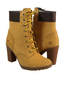 2e639d7309f9 Timberland Women s Glancy 6-inch Premium Waterproof Boot in Wheat ...