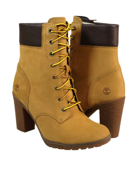 239bf6ea2001 Timberland Women s Glancy 6-inch Premium Waterproof Boot in Wheat (TB08715A)