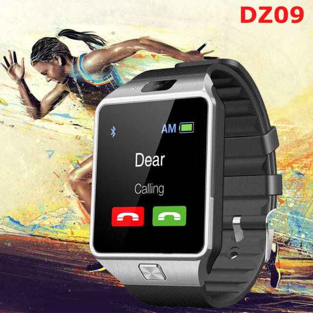 DZ09 Bluetooth Smart Watch GSM SIM Phone for iPhone Samsung Android Phone Mate
