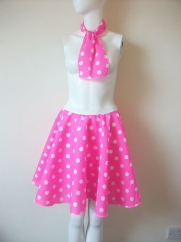 Bambini Da Bambina Rock N Roll Full Circle A Pois Jive Gonna 50/'s Costume