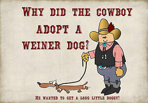 MAGNET-DUMB-JOKES-Why-Did-the-Cowboy-Adopt-a-Weiner-Dog-Long-Little