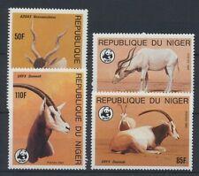 Niger WWF 941/44 postfrisch ....................................................