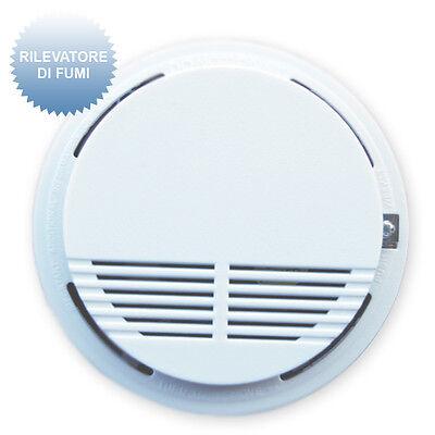 Antifurto casa senza fili rilevatore di fumi antincendio per allarme wireless