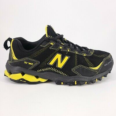 New Balance Black & Yellow Trail Athletic Running Shoes MT570BY ...