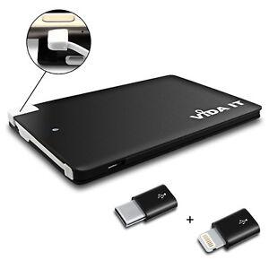 Leger-Petit-2500-mAh-Power-Bank-Batterie-Chargeur-Type-C-Et-Iphone-Adaptateur