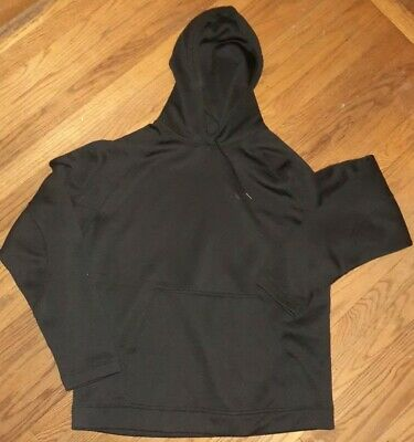 Reebok RBK Play Dry Mens XL Pullover Hooded Sweatshirt Black Excellent!!   eBay