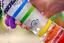 i9 YogaflaschePremium TrinkflascheGlasin 9 verschiedenen Energiefarben