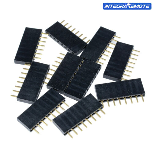 100PCS header 2.54mm 8 Pin pitch Female Single Row socket Connecter
