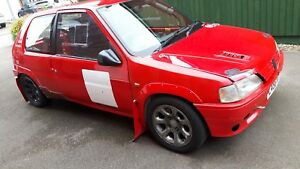 Peugeot-106-S1-Rallye-Stage-Rally-Car