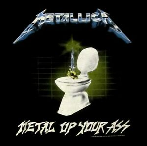 METALLICA-cd-lgo-METAL-UP-YOUR-ASS-Official-SHIRT-LRG-new