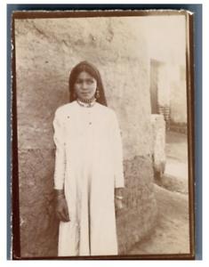 Egypte-Keneh-Fille-de-Keneh-Qena-Vintage-citrate-print-Tirage-ci