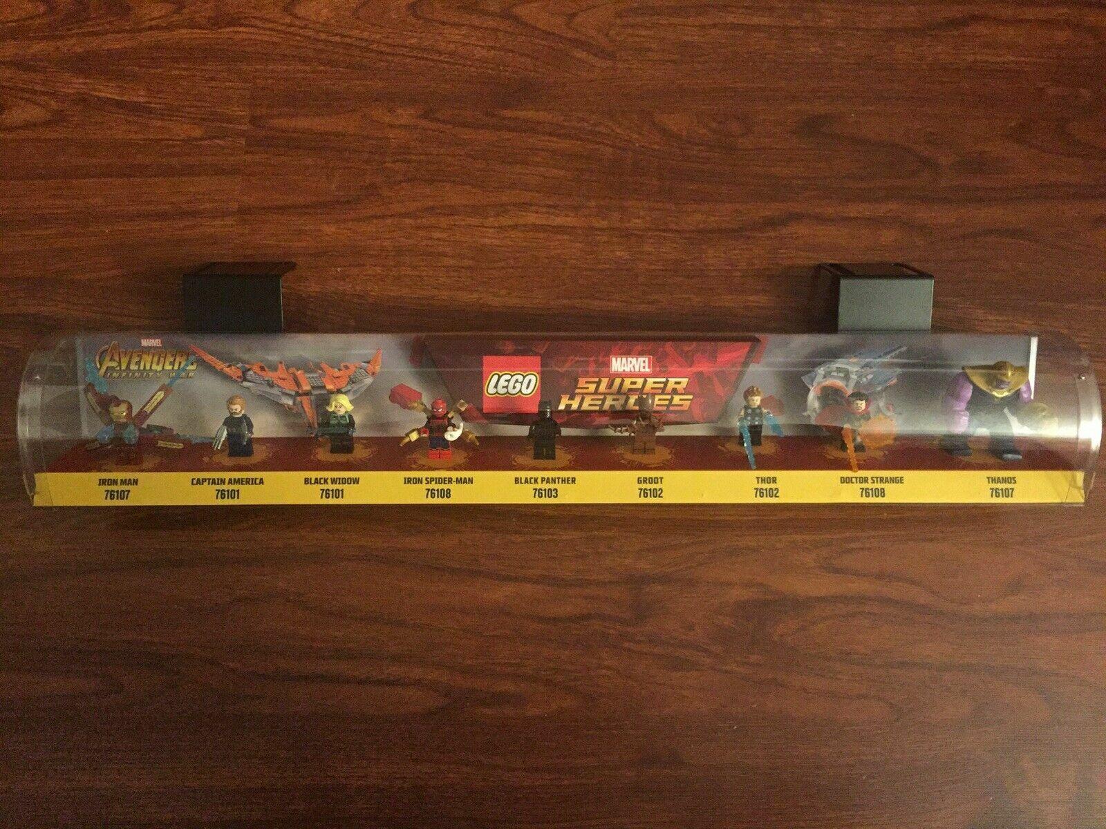 LEGO Marvel Super Heroes Avengers Infinity War Mini Figure Store Display Piece