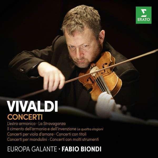 Fabio Biondi - Vivaldi: Concertos CD
