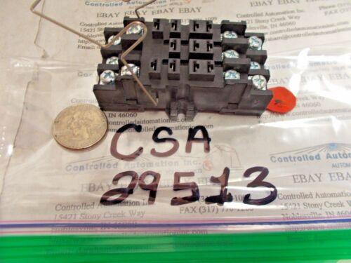 CSA 29513 Relay Socket//Base