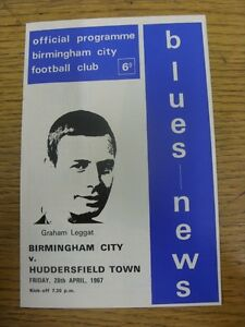 28041967 Birmingham City v Huddersfield Town  slight fold Thanks for viewin - <span itemprop='availableAtOrFrom'>Birmingham, United Kingdom</span> - Returns accepted within 30 days after the item is delivered, if goods not as described. Buyer assumes responibilty for return proof of postage and costs. Most purchases from business s - Birmingham, United Kingdom