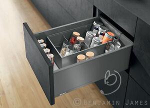 Kitchen-Carcass-Unit-4-Drawer-Base-Cabinet-Blum-Legrabox-100-Colours