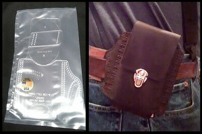 LEATHER IPHONE ANDROID CELL PHONE CROSS DRAW HOLSTER TEMPLATE SET W//OPTIONS