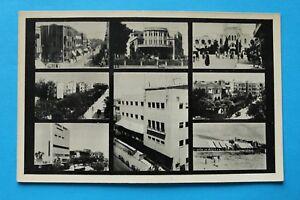 Israel-Judaika-AK-Tel-Aviv-1920-1930s-Architecture-Streets-Houses-Art-Deco
