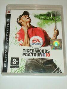 Jeu-de-pour-PS3-Tiger-Woods-Pga-Tour-10-Boite-DVD-Livre-Originale