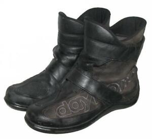""" DAYTONA SHORTY "" Herren- Motorradstiefel / Stiefel / Boots in schwarz Gr. 43"