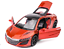 Acura-NSX-1-32-Model-Cars-Sound-amp-Light-Toys-Gifts-amp-Collection-Alloy-Diecast-Red thumbnail 4