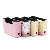 Cute Makeup Cosmetic Stationery DIY Paper Board Storage Desk Organizer Box FT