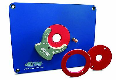 NEW Kreg Tool Co PRS3036 Router Table Insert Plates Pre Drilled