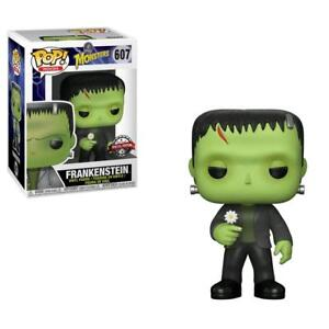 Movies #607 Vinyl Figur Funko Hohe QualitäT Und Geringer Aufwand Spielzeug Genossenschaft Frankenstein With Flower Universal Monsters Pop Film-fanartikel