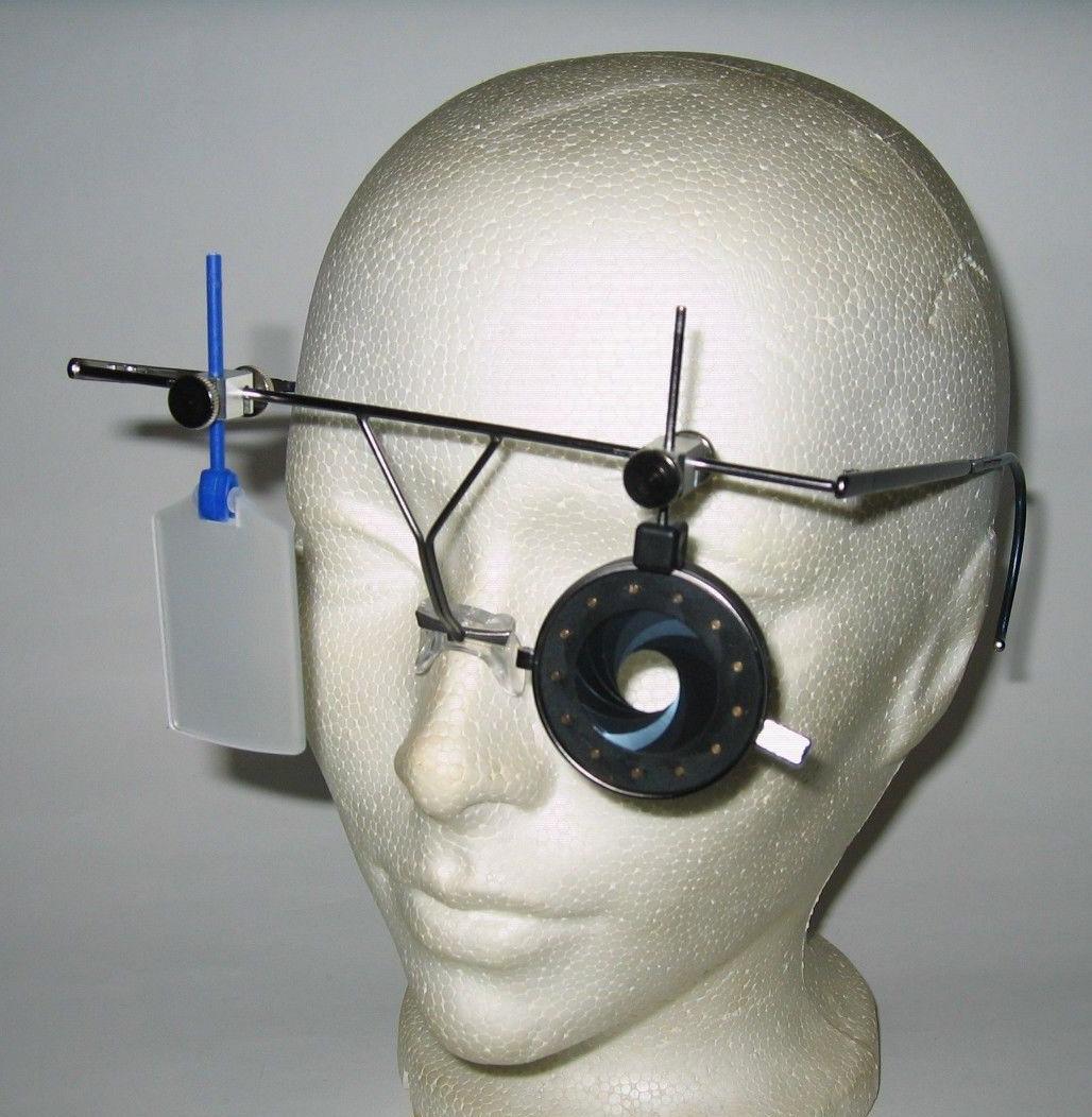 Pistola de disparo izquierda Varga Merkur 37mm Glasses Frame con 37mm Iris