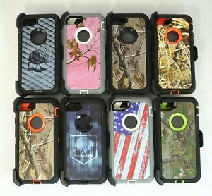 online store 0ad9f 0182a Details about For Apple iPhone 8 Plus Camo Case (Belt Clip Holster Fits  Otterbox Defender)