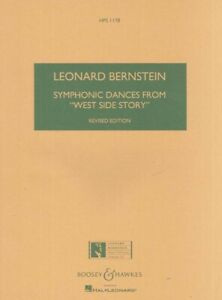 Details About Bernstein Symphonic Dances West Side Study Score