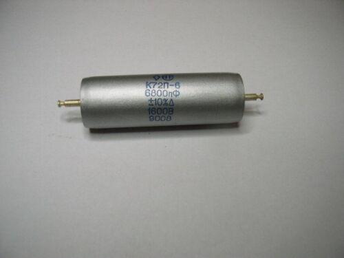 nuevo viejo stock. //-10/% 1600 V Audio Teflón condensadores K72P-6 5x 6800pF