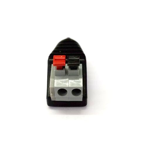 PLUGZ2GO Rca Mâle Connecteur pour Av Ressort Type Terminals CCTV // Réparations