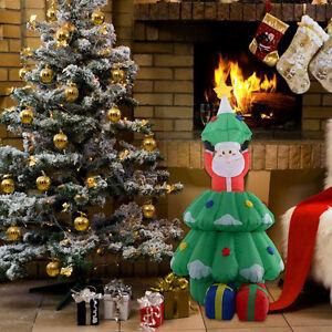 Rostiger Tannenbaum.Led Weihnachtsbaum Aufblasbar Weihnachtsdeko Beleuchtet Ladendeko
