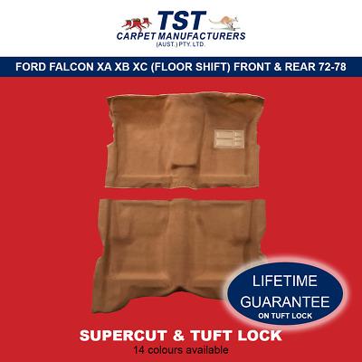 SF09 MOULDED CAR CARPETS FLOOR SHIFT FORD FALCON XA XB XC F /& R 72-78