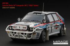 1:43 HPI DIECAST #8180 Lancia Delta HF Integrale (#1) 1992 Safari