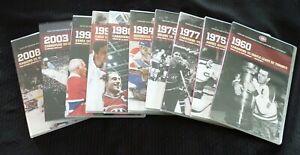 Coffret-DVD-French-Movie-Box-Set-Matchs-Memorables-Dans-L-039-histoire-des-Canadiens