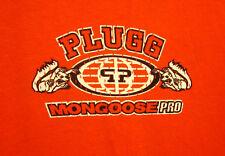 MONGOOSE PRO BICYCLES med T shirt Plugg beat-up tee BMX Bike extreme 1990s