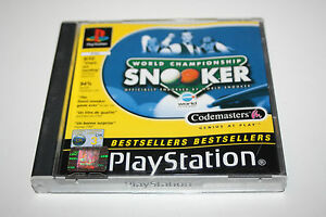 World Championship Snooker  Playstation 1 Game  No Instructions  PS1  3 - <span itemprop=availableAtOrFrom>Southend-on-Sea, United Kingdom</span> - World Championship Snooker  Playstation 1 Game  No Instructions  PS1  3 - Southend-on-Sea, United Kingdom