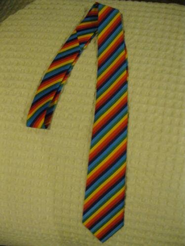 "Gay Pride Rainbow Striped Stripes Unisex Men/'s Tie Necktie 57/"" Longx 3/"" Wide-New"