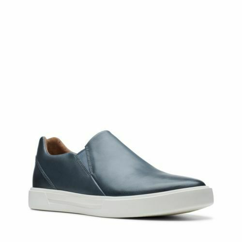 Clarks Men's Un Costa Step Dark bluee Leather Casual shoes 26141613