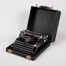Remington Noiseless Portable Working Typewriter Antique Schreibmaschine