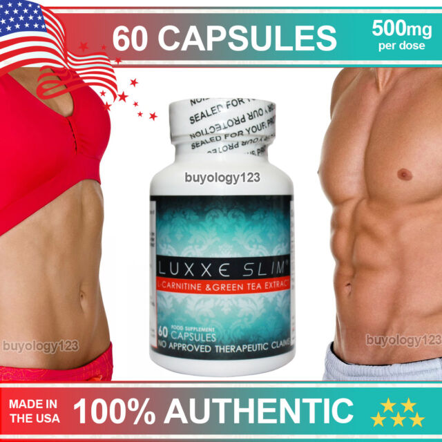 Buy Luxxe Slim L Carnitine Green Tea Extract Weight Loss Slimming