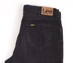 Lee-Hommes-Brooklyn-Droit-Jambe-Slim-Jean-Taille-W42-L34-ATZ1490